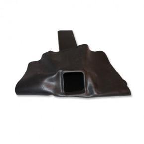 EPDM Flachdachgully 60x100 mm mit Flansch (Rohrlänge 50 cm, 45° Neigung)