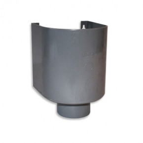 PVC Sammelbehälter mit Abfluss Ø 70 mm