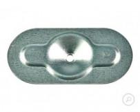 Metall Halteteller mit EF-Markierung